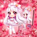 Cute Kawaii Anime Girl Theme icon