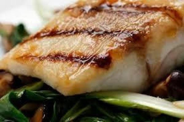 Grilled Yakitori Chilean Seabass Recipe