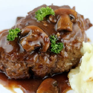 These Salisbury Steaks With A Mushroom & Onion Gravy Are Unlike Anything We Ever Had Before.
