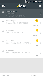 ebase mobile viewer - náhled