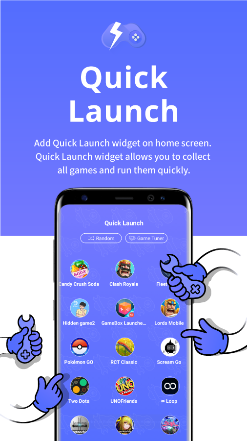 Game Tuner for Game Launcher- screenshot
