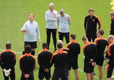 Les Pays-Bas effectueront un stage à l'étranger avant l'Euro 2020