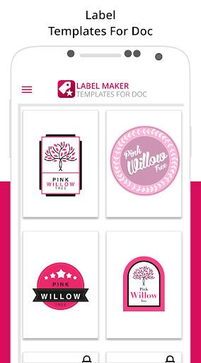 Label Maker & Creator: Best Label Maker Templates  screenshots 1