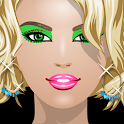 Red Carpet Dress Up and Makeup icon