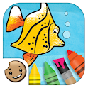 Painting Lulu Sea Life App icon