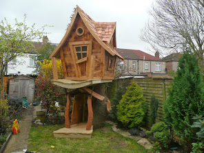 Bespoke wooden playhouses enchanted creations playhouses for Crooked house plans
