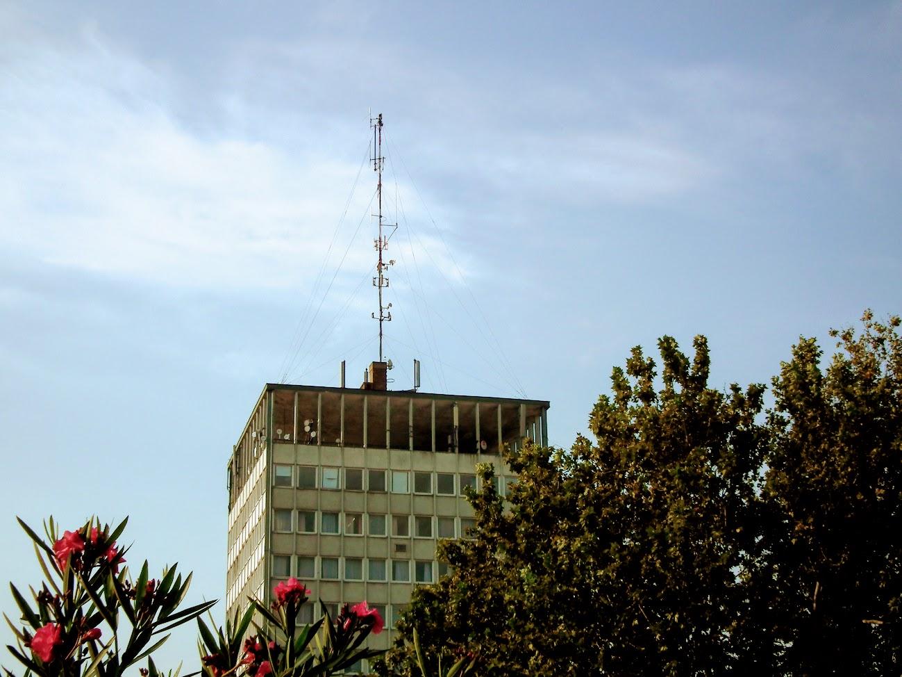 Nyíregyháza/Szarvas Irodaház - helyi URH-FM adóállomás