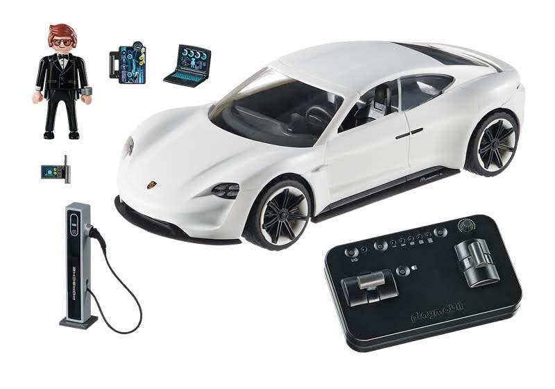 Contenido de Playmobil® 70078 Porsche Mission E y Rex Dasher