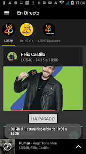 LOS40 Radio- screenshot thumbnail
