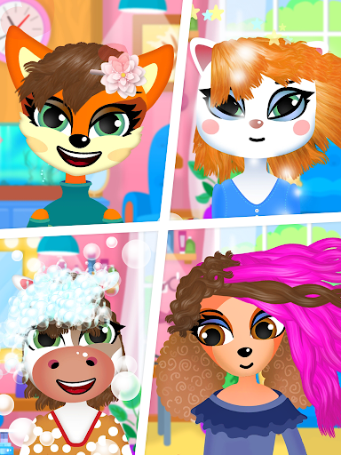 Hair salon : animals 1.1.0 screenshots 14