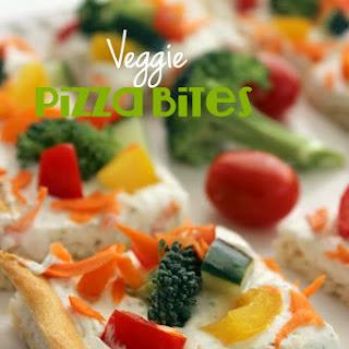Veggie Pizza Bites.