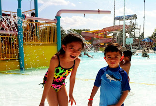 Photo: To beat the 98-degree Lincoln summer day, a trip to the water slides was much appreciated. — at Star City Shores.