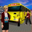 High School Bus Simulator: City Bus Driving icon