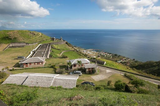 view-from-Brimstone-Hill-Fortress.jpg - View from the citadel atop Brimstone Hill Fortress on St. Kitts, which stands nearly 800 feet above the Caribbean.