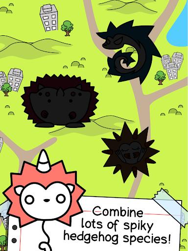 Hedgehog Evolution - Create supersonic creatures! 1.0 screenshots 11