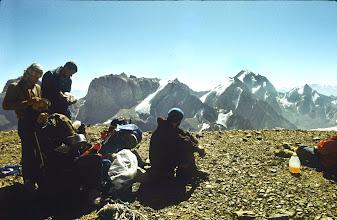 Photo: Blick auf den Gipfel Zamok (links)