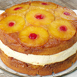 Copycat Cheesecake Factory Pineapple Upside-Down Cheesecake