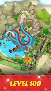Stone Park: Prehistoric Tycoon MOD APK 1.4.2 (Unlimited Gold Coins) 5