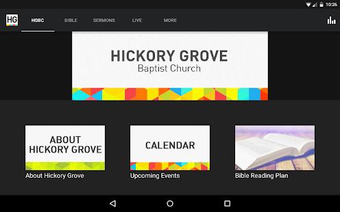 Hickory Grove Baptist Church - screenshot thumbnail