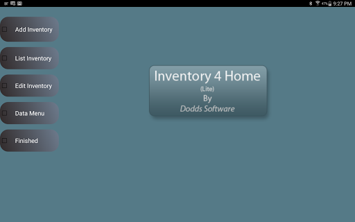 Inventory4Home Tablet-Full