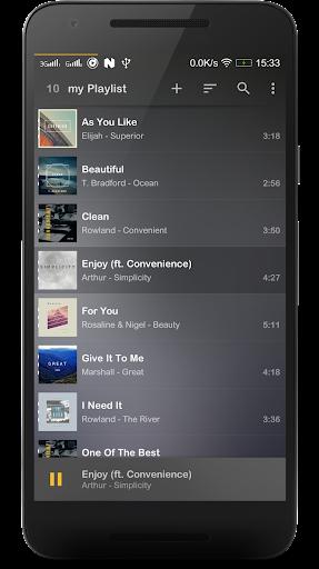 Music Player Mezzo v2017.06.18 beta [Unlocked]