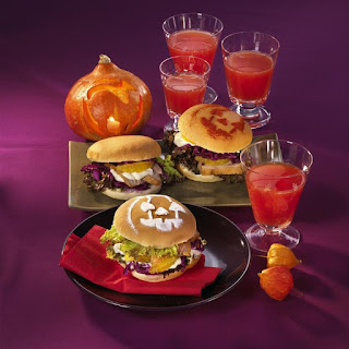 Halloween Duck Sandwiches