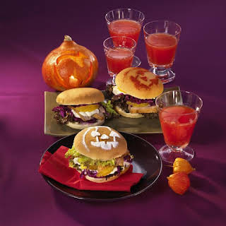 Halloween Duck Sandwiches.