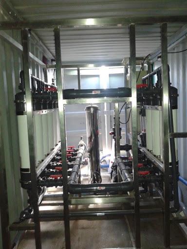 Membrana para remoção de nitrogenio