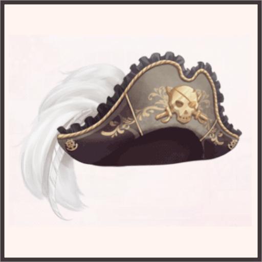 ドクロの海賊帽
