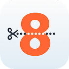 8 Words Apart : 1 picture, 1 letter puzzle icon