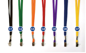 Photo: 針織布面識別繩 C ( 挑選編號顏色 )