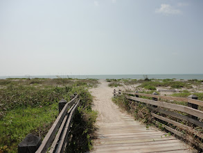 Photo: The cape is building eastward.  There used to be a fish camp in this location.