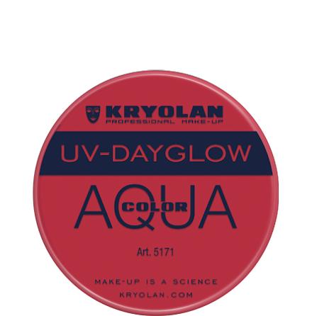 Kryolan Aqua liten UV röd