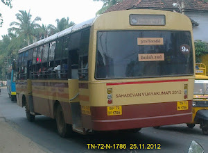 Photo: TN 72 N 1786 ROUTE NO-9A MELMIDALAM REAR WITH LEFT VIEW