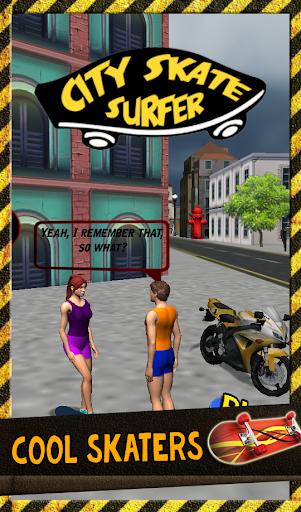 56a88b914c3 ... City Skate Surfer Finger Skate screenshot 8 ...