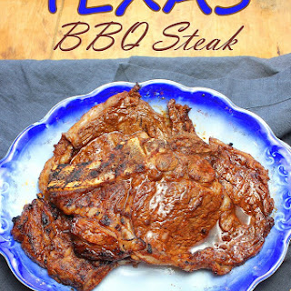 Texas Barbecue Steak