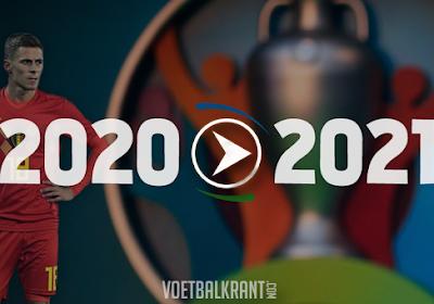 De impact van Euro 2021 op de Rode Duivels: voor wie is het goed/slecht nieuws dat het EK wordt uitgesteld?