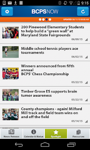 BCPS Now- screenshot thumbnail