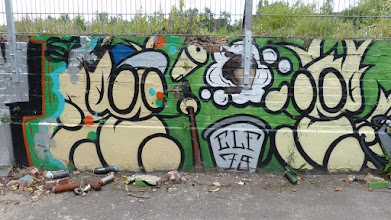 Photo: ELF79; Graffiti an der Zollstraße