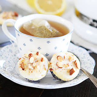 Mini Lemon Almond Muffins.