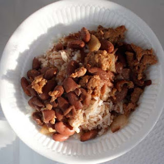 Rice & Stew Peas