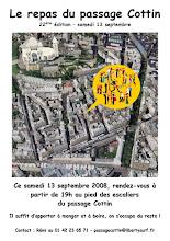 Photo: Samedi 13 Sept. 2008 - 23° édition (et non pas 22°) du repas du passage Cottin