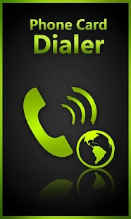 Phone Card Dialer- screenshot thumbnail