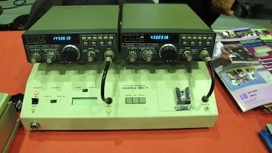 Photo: F5GLB, station 144 MHz et 432 MHz