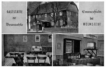 Photo: Grusskarte von Gaststätte zur Brunsohle in Emmerstedt