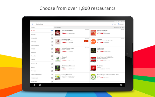 Just Eat u2013 Order Takeaway  screenshots 7
