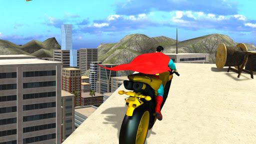 Super Hero Bike Mega Ramp 1.3 screenshots 8