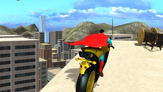 Super Hero Bike Mega Ramp 8