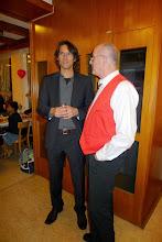 Photo: Vater und Sohn. René und Peter Schaffner