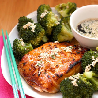 Maple Sesame Glazed Salmon